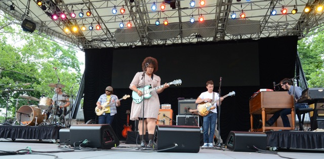 Alabama Shakes were one of the bands that shook SummerStage last year.