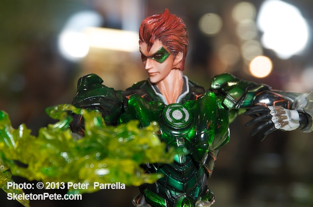 DC&#039;s Green Lantern Gets an Anime Make-Over from Square Enix/Play Arts