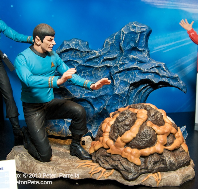 Mr. Spock Administers Some Pre-Natal Care to the Horta