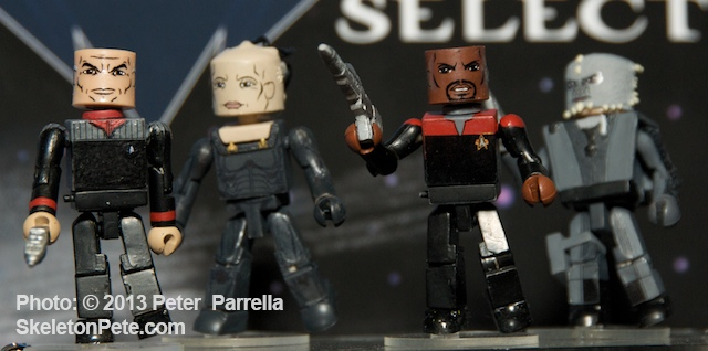 Courageous Star Trek Captains and Their Foes Get Mini-Mated