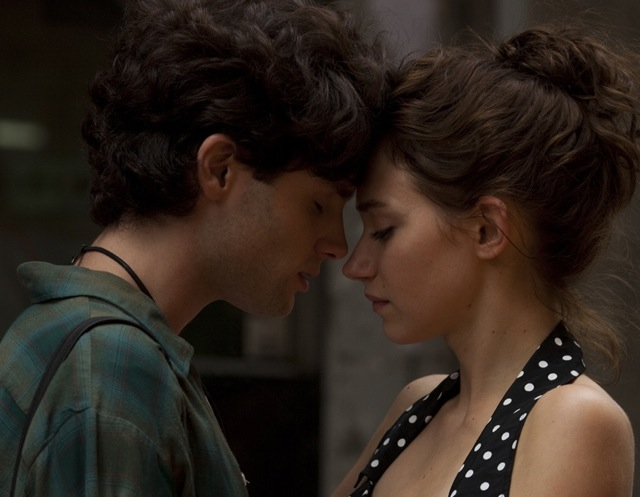 Badgley and Poots Meld Minds as Jeff and Allie (Photo Courtesy of Tribeca Films) 