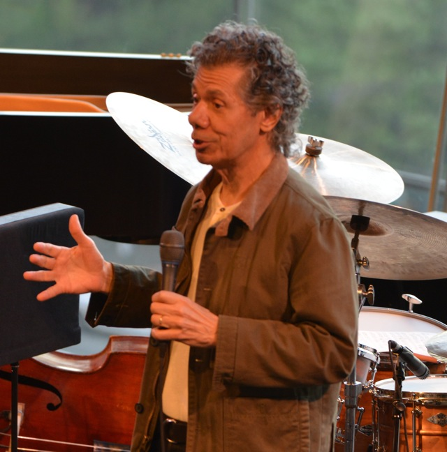 "Jazz Pianist Chick Corea at ""Friends of"" show honoring his career. (Photo by Frank Stewart/Courtesy of JALC)"