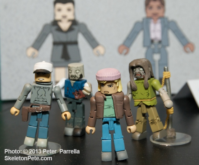 DST Walking Dead Minimates Series 3, Toys R Us Exclusives