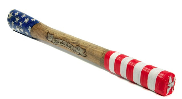 "Colonel Stars and Stripes Weapon of Choice, Battling ""Betsy Ross"""