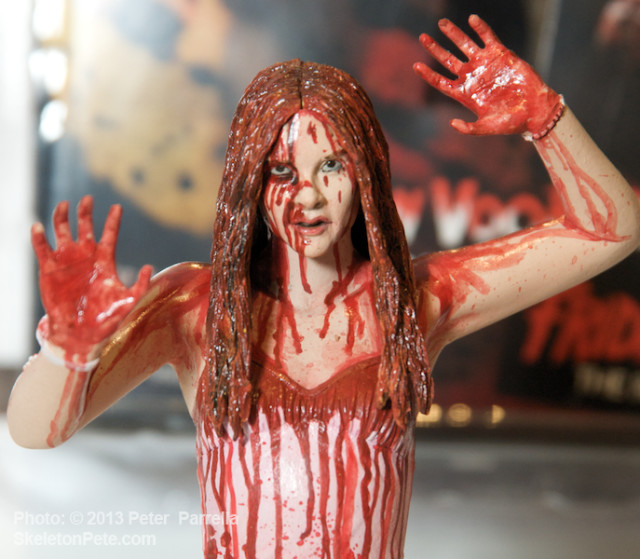 Chloe as Carrie: A Beautiful Bloody Mess for your Display Shelf