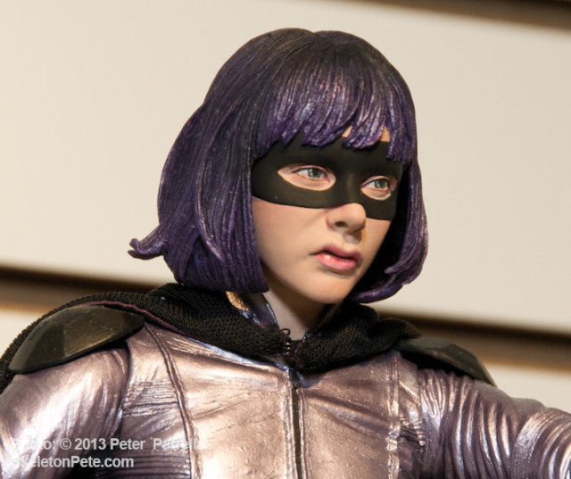 NECA's new Hit-Girl Figure Gets Chloe's Countenance Just Right