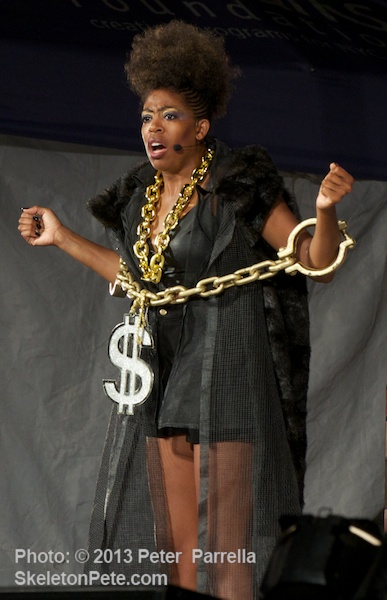 Tracy Jacks in Commercial Bondage as MC Kong in Hip-Hop Satire