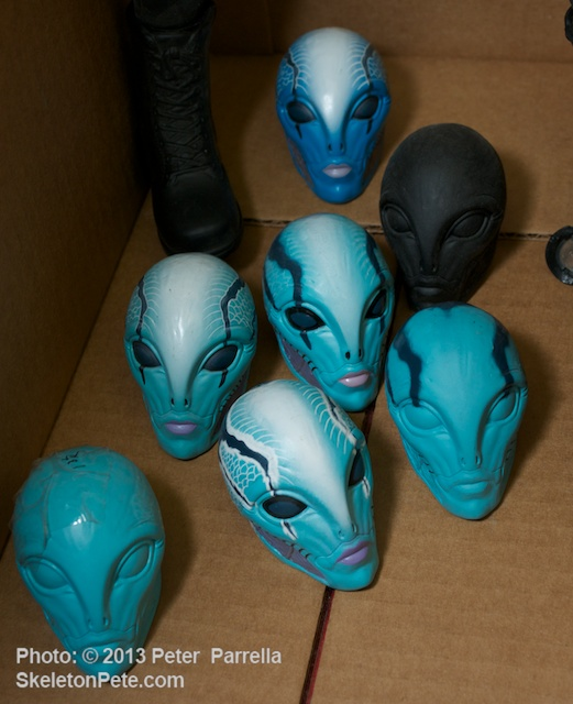 Several Flavors of Hellboy's Abe Sapien
