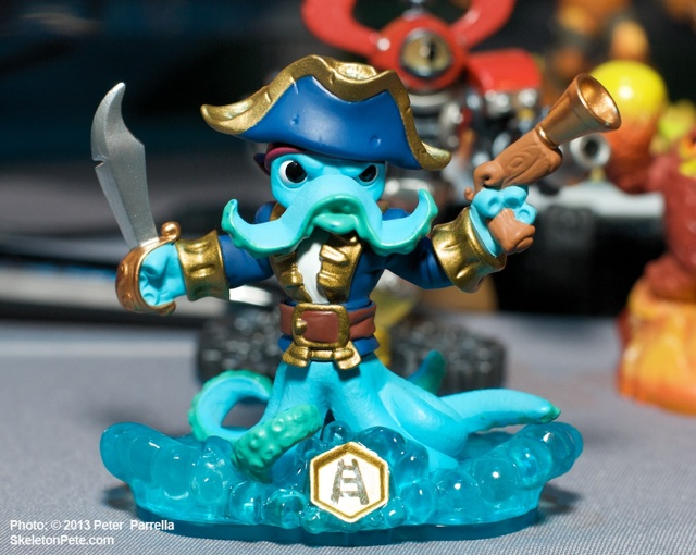 Washbuckler, One of the New Skylander SWAP Force Collectibles
