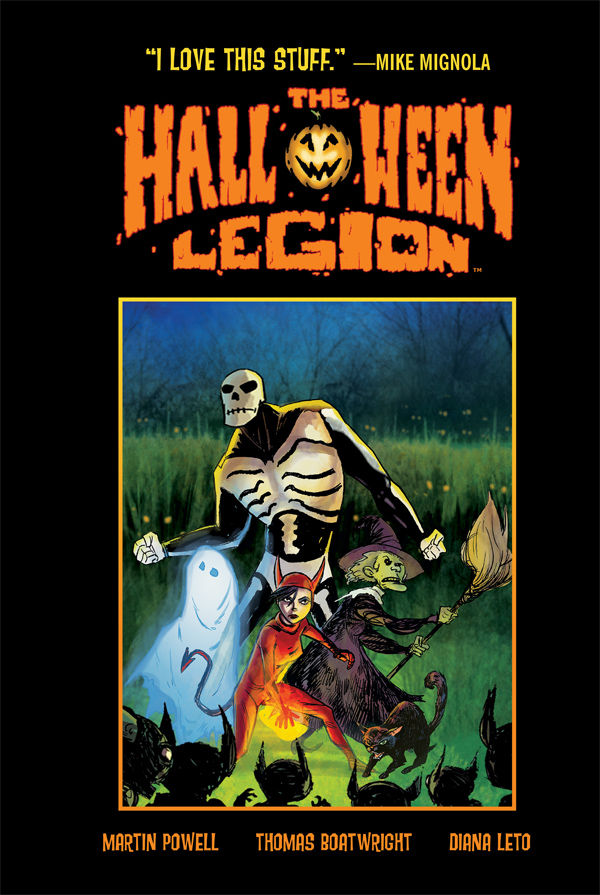 Dark Horse's The Halloween Legion Joins Our Favorite Seasonal Tomes