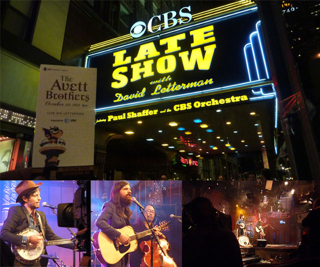 The Avett Brothers @ Live On Letterman Webcast