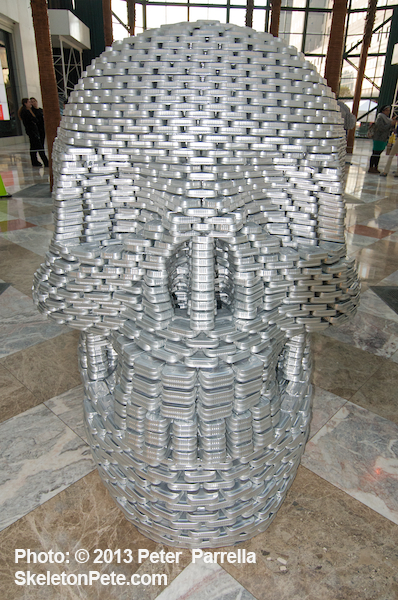 """We CAN Kill Hunger,"" by Studios Architecture, Obviously Tops SkeletonPete's CANstruction Faves for 2013"