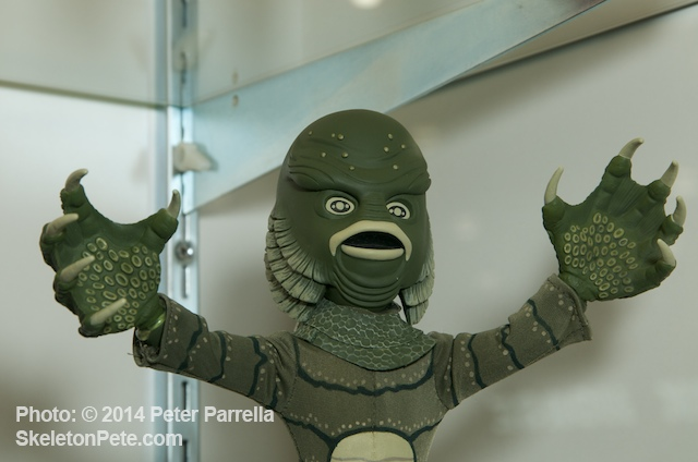 Mezco Toyz, Living Dead Doll rendering of The Creature From the Black Lagoon at the New York Toy Fair 2014