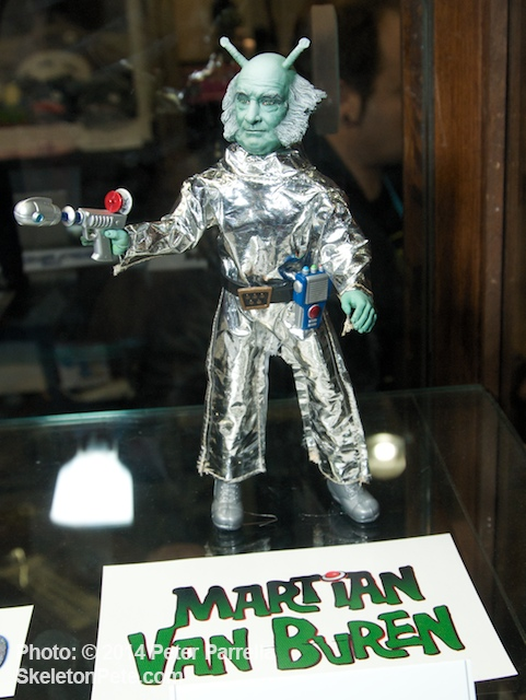 """Take Me To Your Leader,"" demands Martian Van Buren"