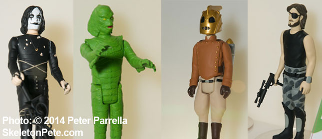 The Crow, The Creature, Rocketeer and Snake Pliskin are 4 of my favorite ReAction Figures.