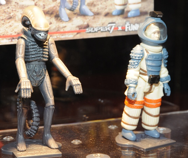 "Super 7 & Funko's ReAction Alien set will be followed by over 60 3.75"" figures."