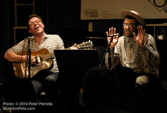 Eli Reed and Dom Flemons Shake 'em on Down at Greenwich House Café au Go Go Revisited.