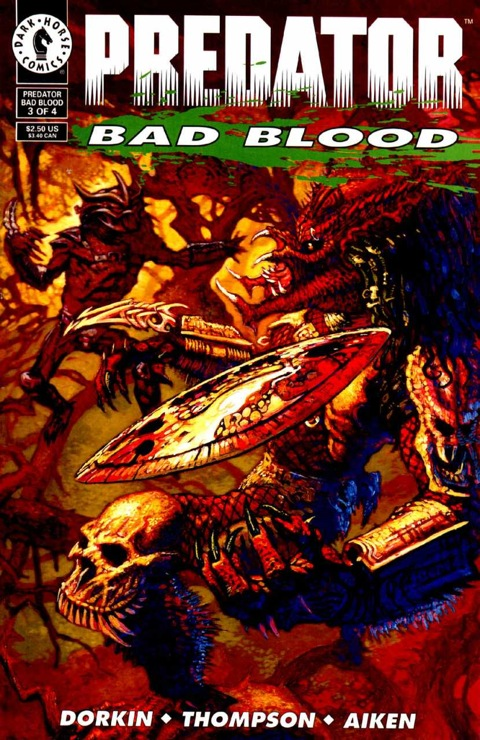 "Dark Horse's ""Predator: Bad Blood"" Comics Inspired 2 of NECA's Series 12 Figures"