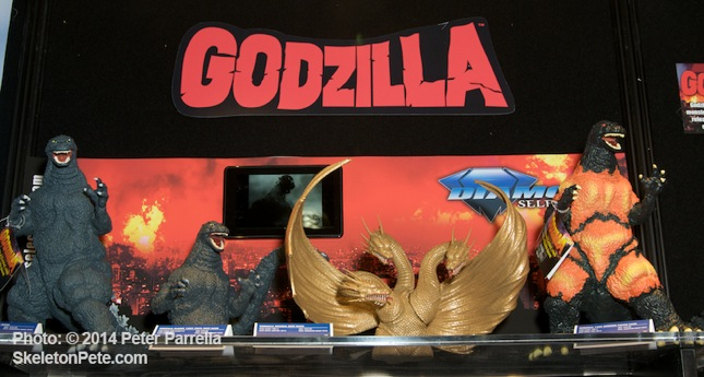Diamond Select Toys' Godzilla Display @ NY Toy Fair 2014