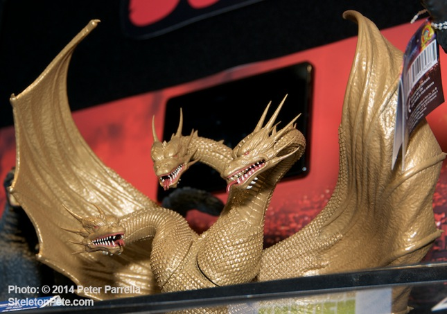 Spectacular King Ghidorah Bust Bank from DST
