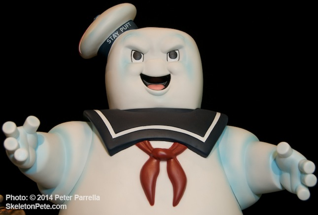 """Ghost Busters"" 24 inch Stay Puft has Evil on his Mind"