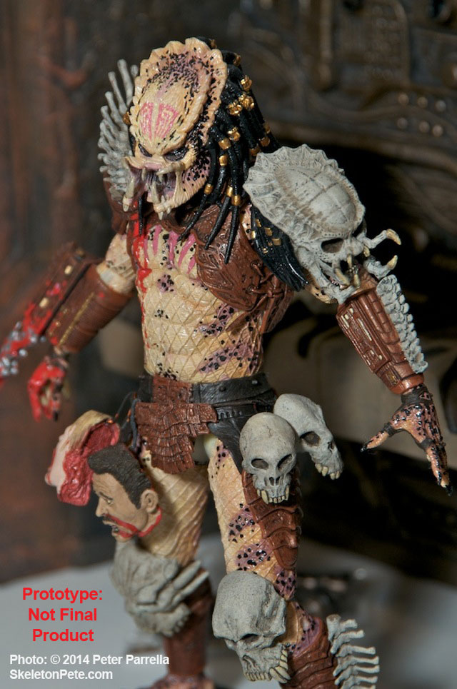 "NECA's Dark Horse Comics Inspired ""Bad Blood"" Predator @ NY Toy Fair 2014"