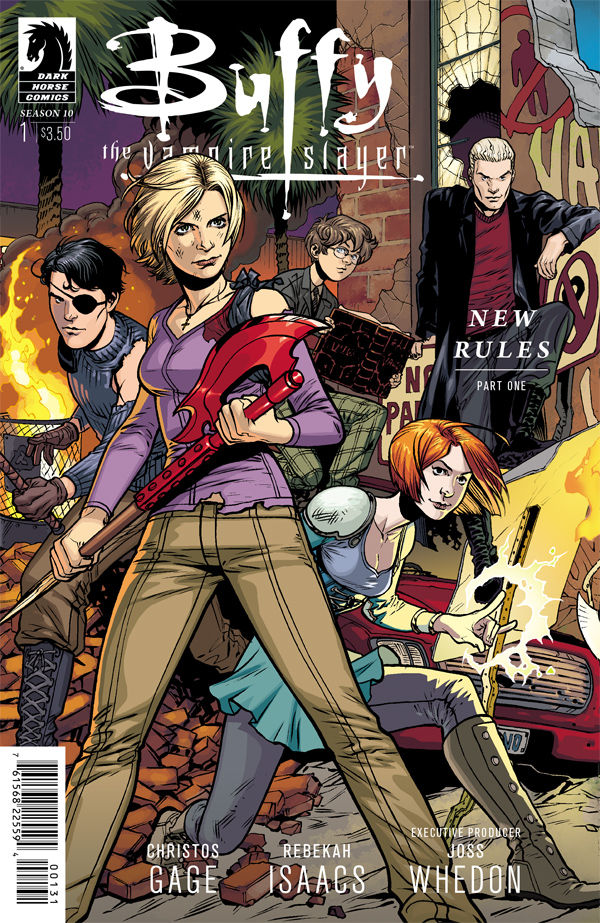 Buffy Season 10 #1 - Ultra Variant Cover Art by Rebekah Isaacs (Courtesy of Dark Horse Comics)
