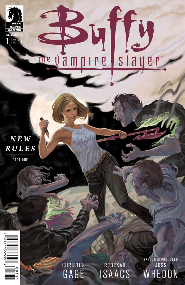 Buffy, The Vampire Slayer: Season 10 # 1 - Steve Morris Cover Art