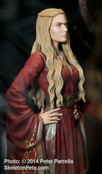 Mid-Summer Will see 5 More Figures Including this Likeness of Lena Headey as Cersei Lannister