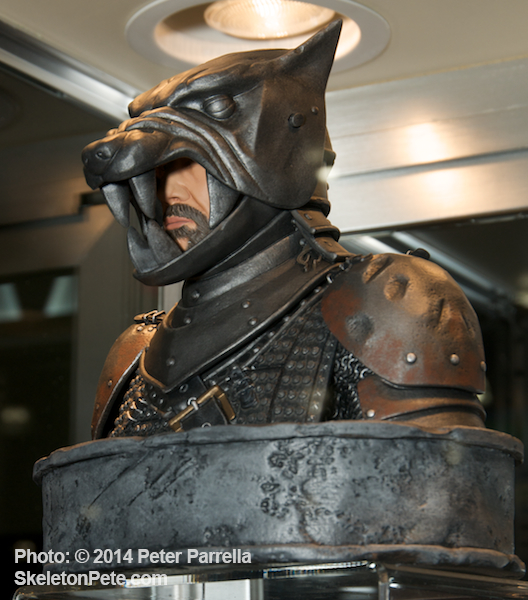 "Limited Edition of Sandor ""The Hound"" Will Have A  Unique Hinged Hood Feature."