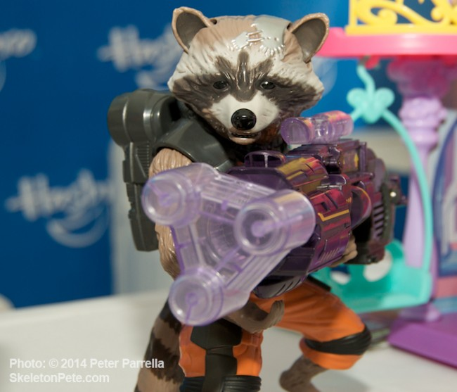 Hasbro's Big Blastin' Rocket Raccoon Points the Cannon at You