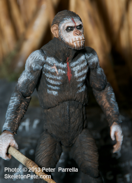 "NECA's 7"" Caesar, King of the Apes Action Figure"
