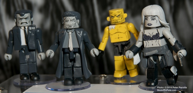 The Yellow Bastard Box Will Be The First 2 Inch Mini-Mate Sin City Set from Diamond Select Toys.