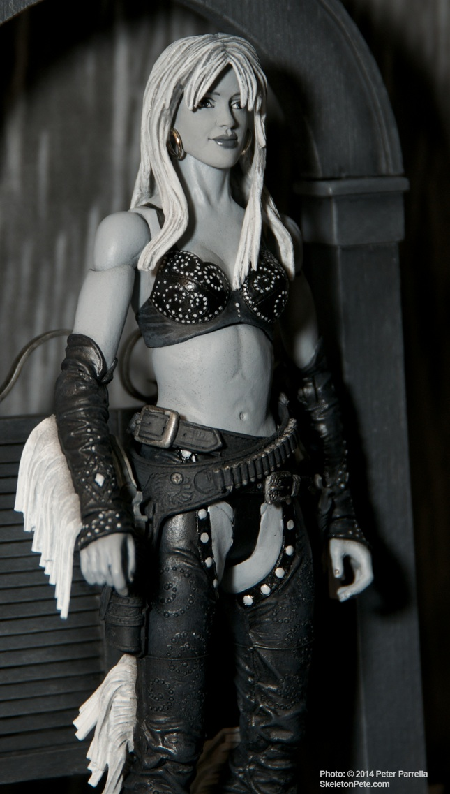 "Sin City's Nancy, as Portrayed by Jessica Alba,  ""Select"" Figure is Already Available."