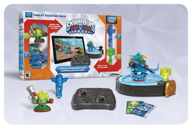 Tablet Starter Pack Contents Revealed (Photo Courtesy of Activision)