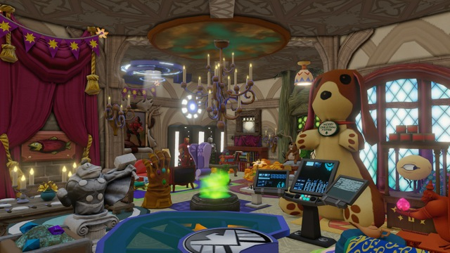 Design Hybrid Fantasy World Interiors for Your Characters to Live in Via Disney Infinity Toy Box 2.0