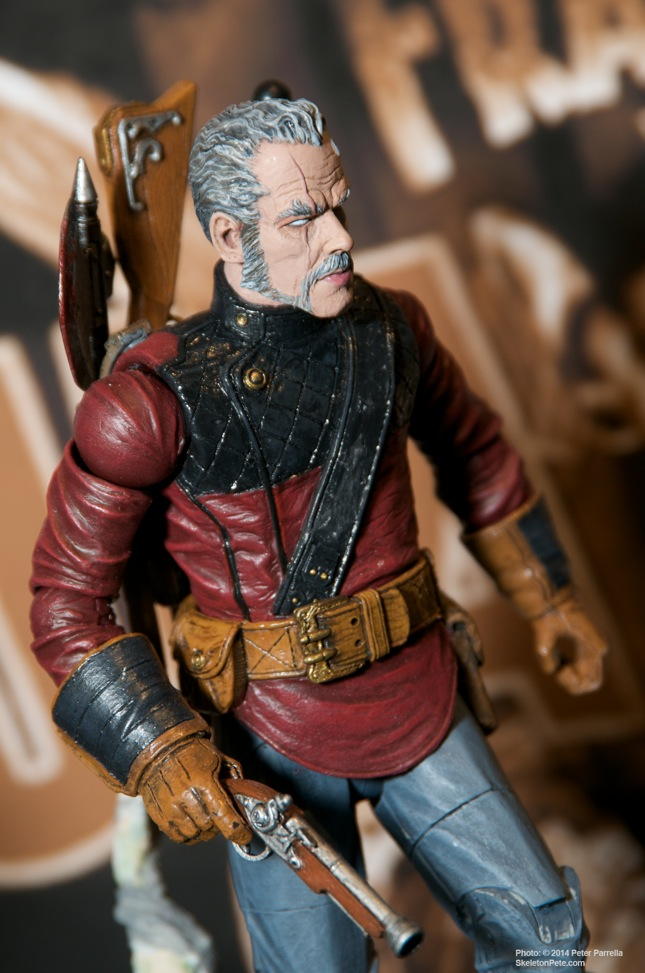 Diamond Select Toys' Van Helsing action figure prototype as seen at Toy Fair 2014.
