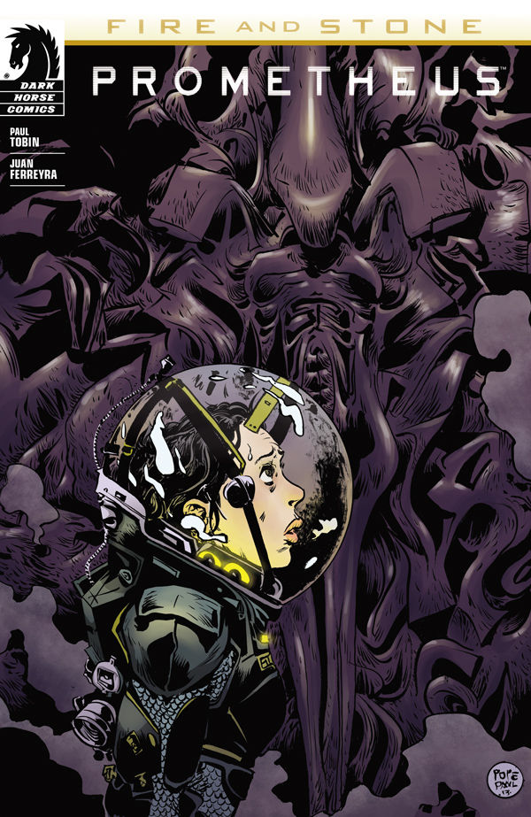 Artist Paul Pope's Cover Variant for Prometheus: Fire and Stone from Dark Horse Comics