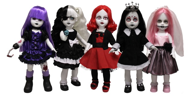 Living Dead Dolls Series 28, all dressed up and ready to party.