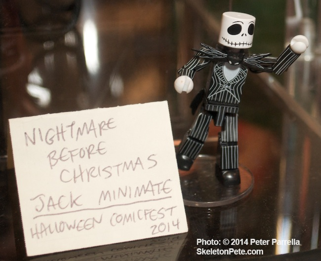 "DST will launch it's ""Nightmare Before Christmas"" Mini-Mate Series with Jack Skellington."