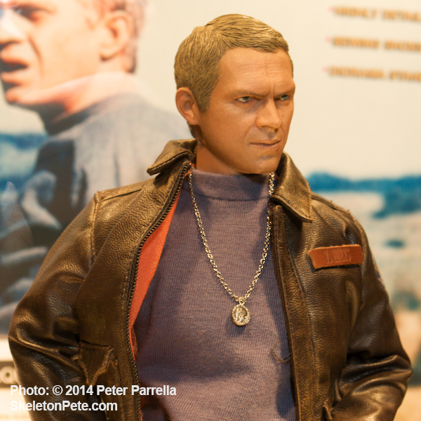 Unique Steve McQueen Collectible will Join Star Ace's Growing Line (Pre-Approval Image)