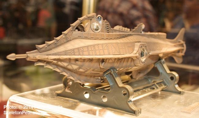 Star Ace's Cast Metal Replica  of the Disney Submarine Nautilus Design.