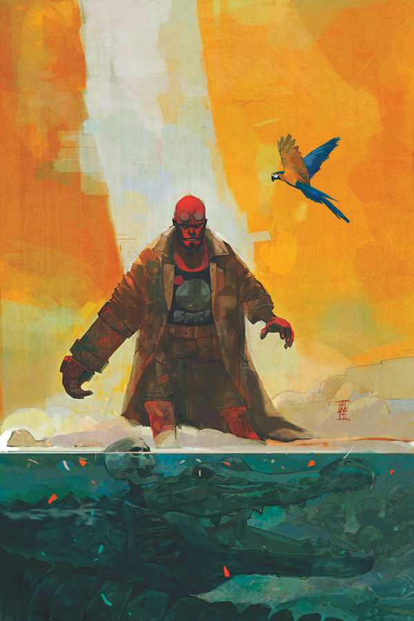 A look ahead to Alex Maleev's issue #3 cover art.