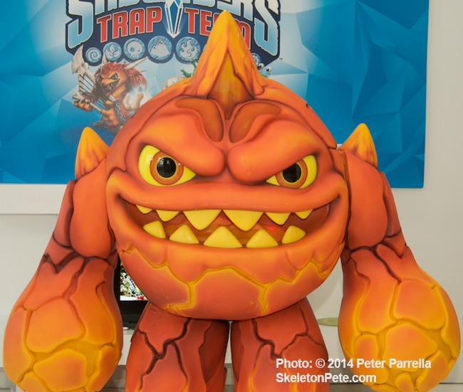 It's Clobbering Time: On Thanksgiving Day 2014 this guy will be dwarfed by his Macy's Parade balloon big brother.