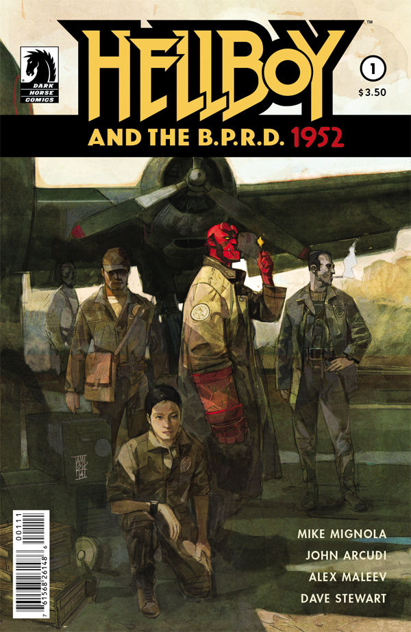 Hellboy joins the B.P.R.D. for his first mission in 1952.