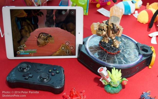 Going Mobile: Skylanders Trap Team Kit for tablet devices.