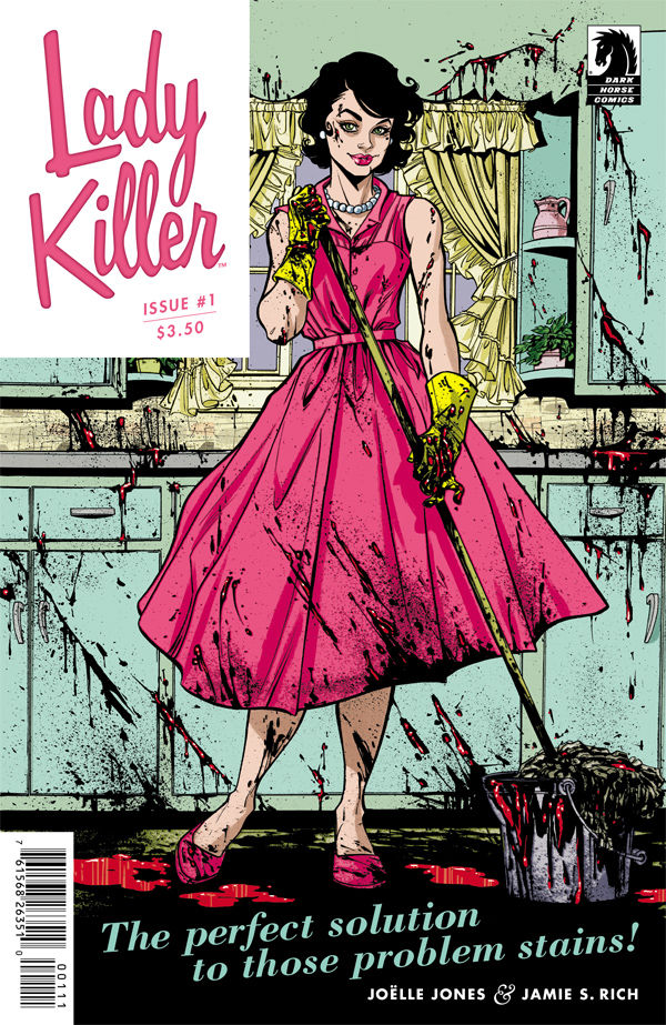 dark horse comics, lady killer, joelle jones