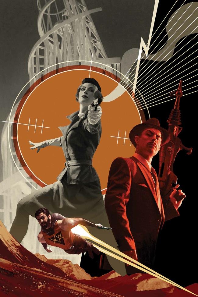 Marvel's Operation S.I.N. #1. Standard Cover art by Michael Komark.