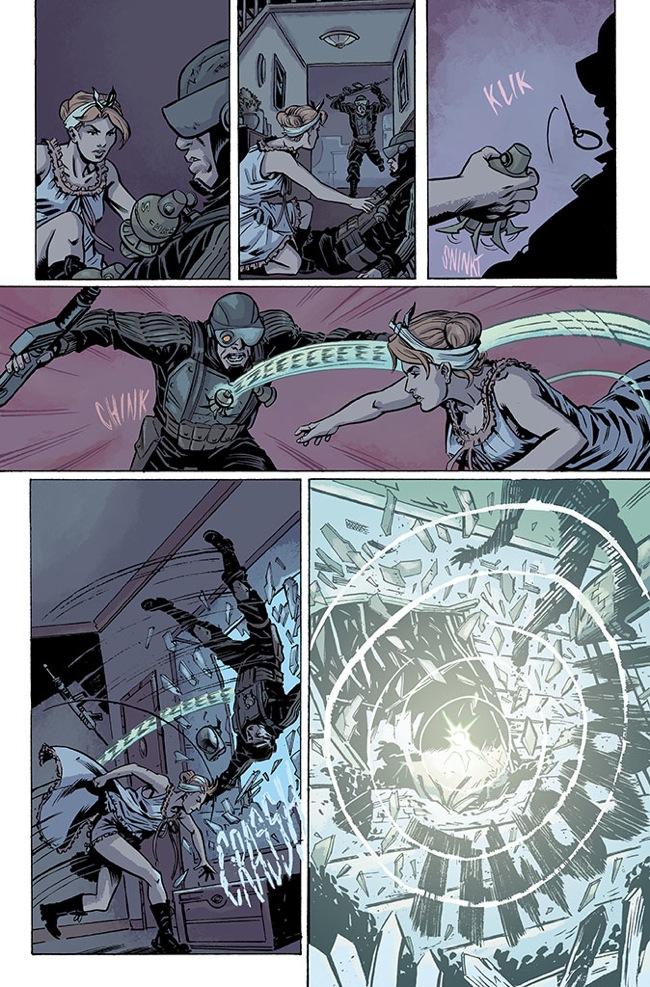 Marvel Comics' Operation S.I.N. #1. Interior art by Rich Ellis.