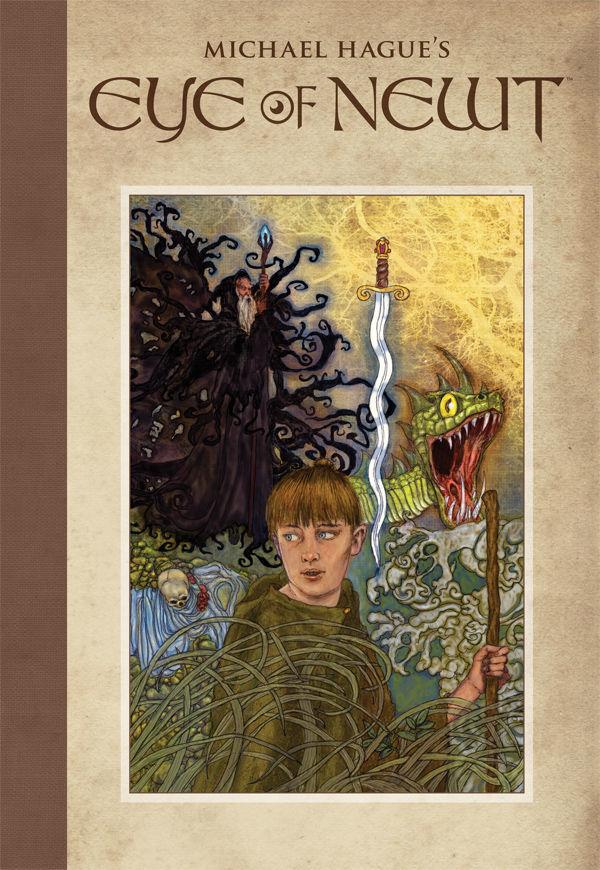 eye of newt,dark horse comics, michael gauge, king arthur,